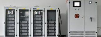 Demonstrator / Speichersystem 100 kW(h) trifft ein